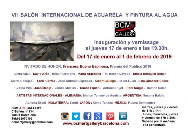 VII Salón Internacional de Acuarela y Pintura al Agua