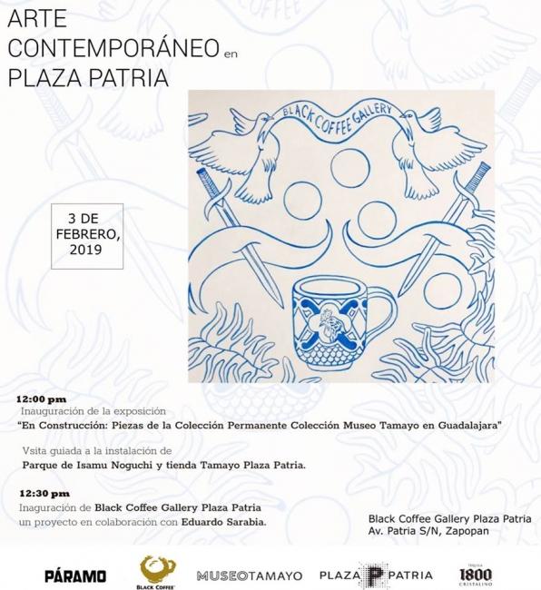 En construcción: Piezas de la colección permanente colección Museo Tamayo en Guadalajara