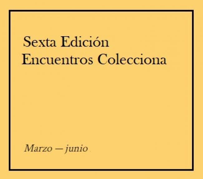 VI Encuentros Colecciona - 2019