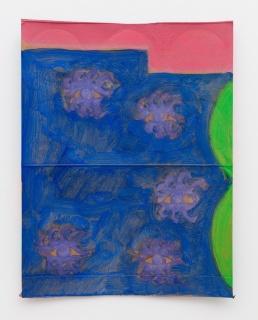 John Finneran, Pinto Canyon Road, 2018, Oil on cardboard, 25.4 x 20.3 cm