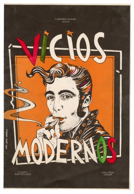Ceesepe. Vicios modernos, Madrid, Las Ediciones de La Banda de Moebius, 1979 — Cortesía de La Casa Encendida