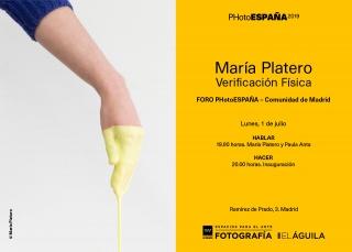 María Platero. Verificación física