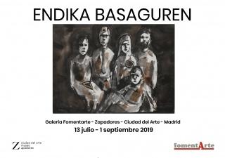 Cartel exposición Endika Basaguren