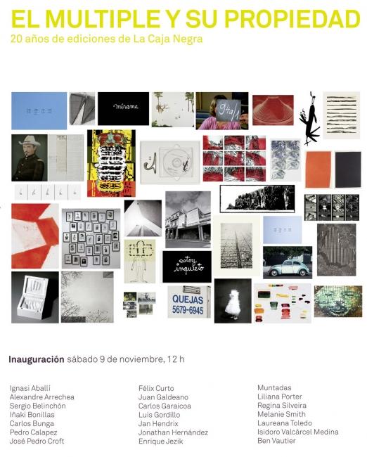 El Múltiple y su Propiedad: 20 años de ediciones de La Caja Negra