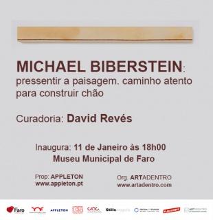 Michael Biberstein, Inaugura no Museu Municipal de Faro