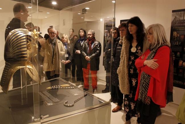 Los tesoros de Tutankamon llegan al Museo de la Ciencia