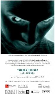 Yolanda Herranz. «...No, aún no...»