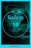 Poster Azul Golem 19