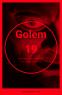 Poster Rojo Golem 19