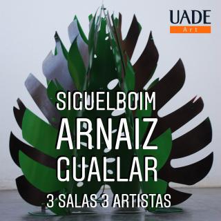 3 Salas 3 Artistas Siguelboim, Arnaiz, Guallar