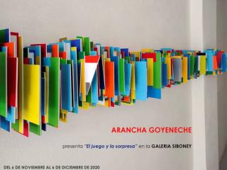 Arancha Goyeneche. El juego y la sorpresa