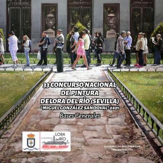 33 Concurso Nacional de Pintura de Lora del Río (Sevilla) Miguel González Sandoval 2021