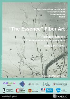 """The Essence"" Fiber Art"