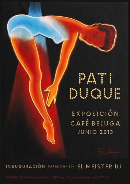 Pati Duque en Café Beluga (Valladolid, 2013)