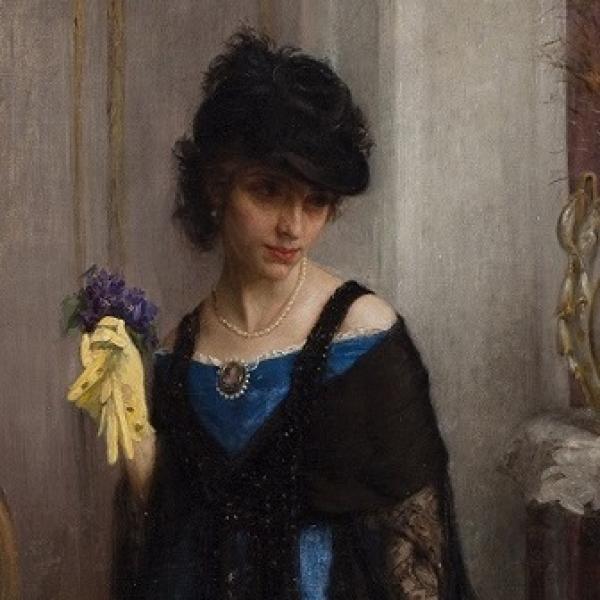 Dama de l\'ombrel·la, de Carles Pellicer