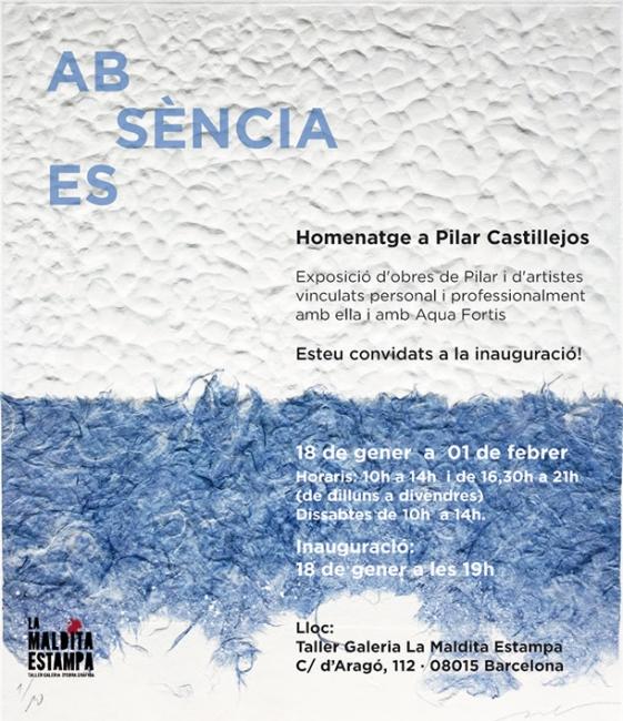 Absència. Essència - Homenaje a Pilar Castillejos
