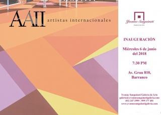 AAII Artistas Internacionales. Imagen cortesía Yvonne Sanguineti