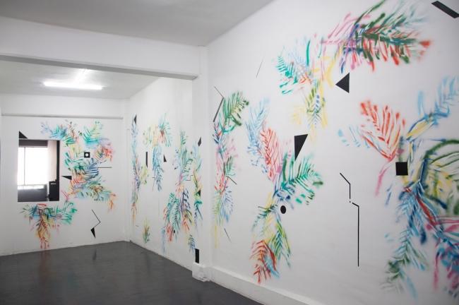 Murales temporales — Cortesía de la Galería Karen Huber