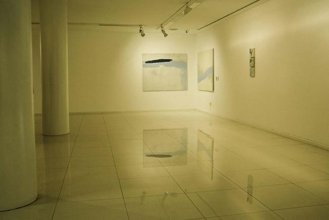 Vista de la exposición: detalle, planta baja. Fotografía de Rodrigo Rivas — Cortesía de Julio Vázquez