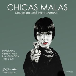 Chicas malas | Dibujos de Jose Parra - Moreno