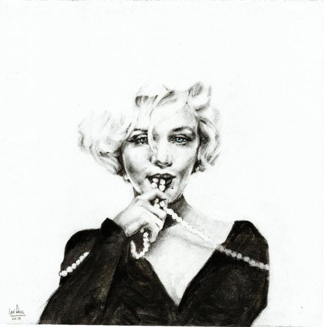 Marilyn perlas, de José Parra - Moreno
