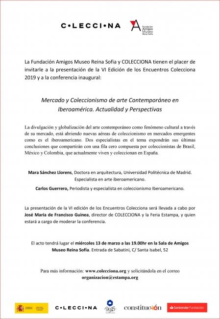 Mercado y Coleccionismo de arte Contemporáneo en Iberoamérica. Actualidad y Perspectivas