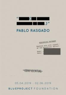 """Pablo Rasgado. """"----- (--- ----- ------- --- ----.)"""""""