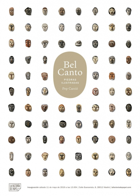 Pep Carrió - Bel Canto. Piedras ilustradas