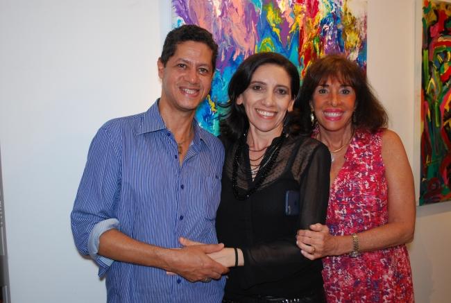Mauricio Moura, Ceres Macedo e Carla Mourão