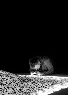 Image: Alfredo Jaar, The Silence of Nduwayezu, 1997