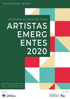 II Certamen de Creación Joven Artistas Emergentes 2020