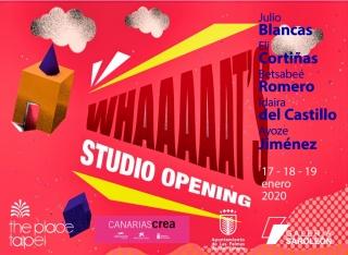Whaaaaats Studio Opening