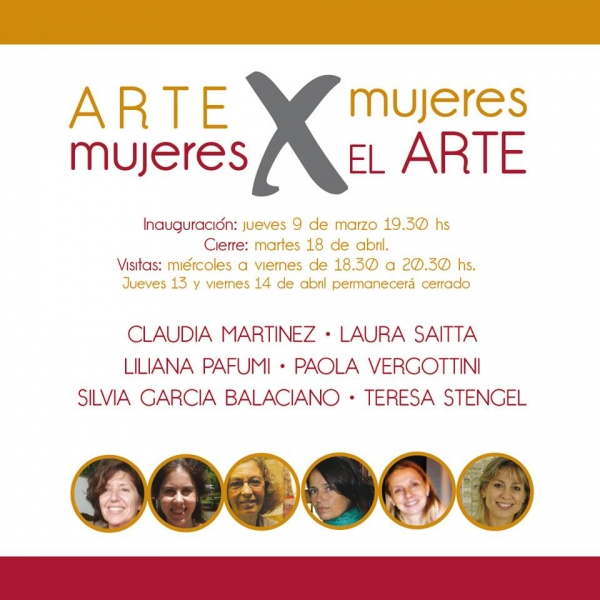 Arte x Mujeres - Mujeres x el Arte.