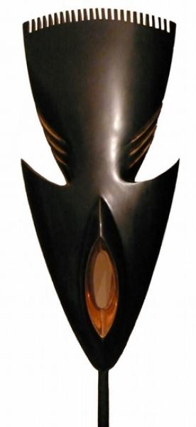 Abelardo, « Hommage à l'Afrique » Bronze, 1997