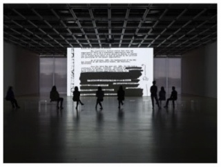 Steve McQueen, End Credits, 2012-2016. Installation view of Open Plan: Steve McQueen (Whitney Museum of American Art, New York, April 29–May 14, 2016) Courtesy of the artist and Marian Goodman Gallery and Thomas Dane Gallery, London, Photo: Ron Amstutz