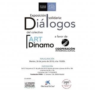 """Exposición """"Diálogos"""" Fundación Pons"""