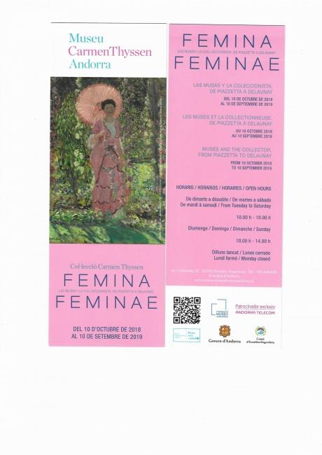 Femina Feminae. Las musas y la coleccionista. De Piazzetta a Delaunay