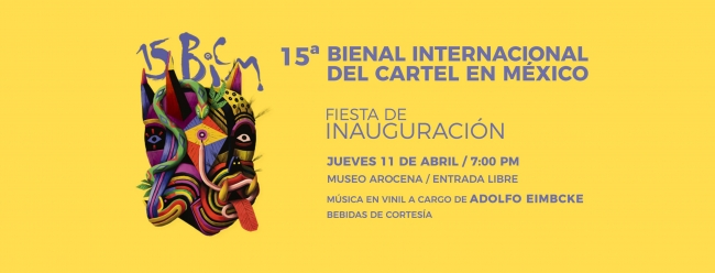 15ª Bienal Internacional del Cartel en México