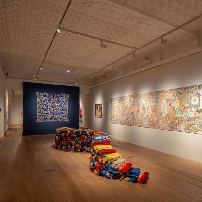 Con aire popular, arte mexicano contemporáneo