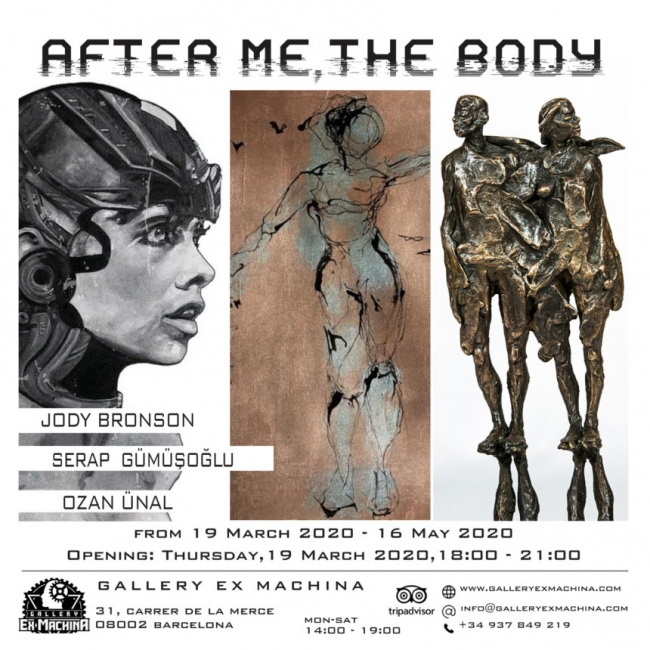 After me, the body