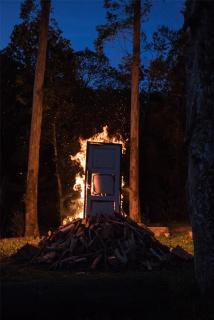 Thiago Rocha Pitta. The clopen door #4, 2020 . film still . 120 x 80 cm. — Cortesía de Casa Triângulo