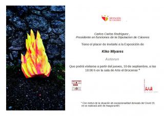 Kiko Miyares. Autorun - Invitación