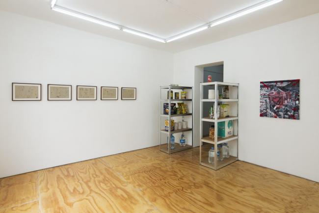 Cuerpos. Vista de la exposición — Cortesía de Lodos gallery