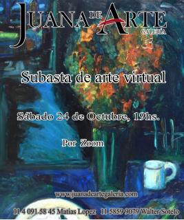 Subasta Virtual Obras Maestros de la Pintura y Escultura y nuevos Artistas