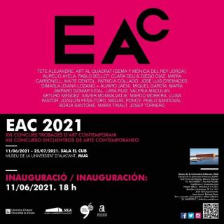 EAC 2021. XXI Concurso Encuentros de Arte Contemporáneo
