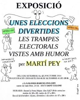 Martí Pey, Unes eleccions divertides. Les trampes electorals vistes amb humor