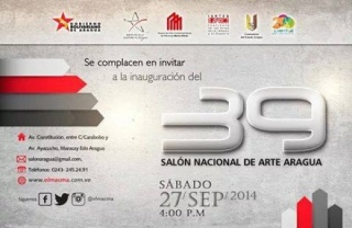39 Salón Nacional de Arte Aragua