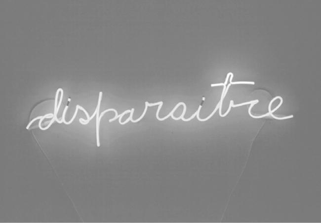 Disparaitre, 2012, obra de Julieta Hanono   Adonay Bermúdez y Paco Barragán te acercan 12 obras claves de la Colección de Ofelia Martín y Javier Núñez