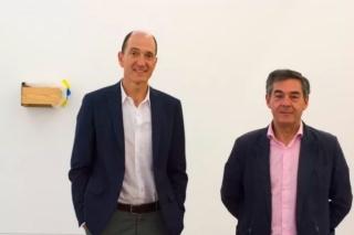 Ignacio Múgica (izquierda) y Pedro Carreras. Fotógrafo: Daniel Mera. Cortesía de CarrerasMugica