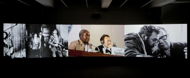 Obra de Naeem Mohaiemen. Cortesía del MACBA | #loquehayquever en España: los museos continúan su idilio fotográfico y tienden puentes con el arte latinoamericano
